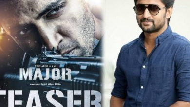Major Teaser Is The Best In A Long Time: Nani