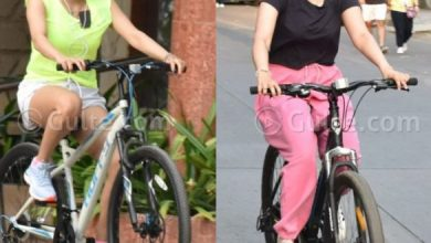 Janhvi and Khushi Kapoor Head Out For Cycling