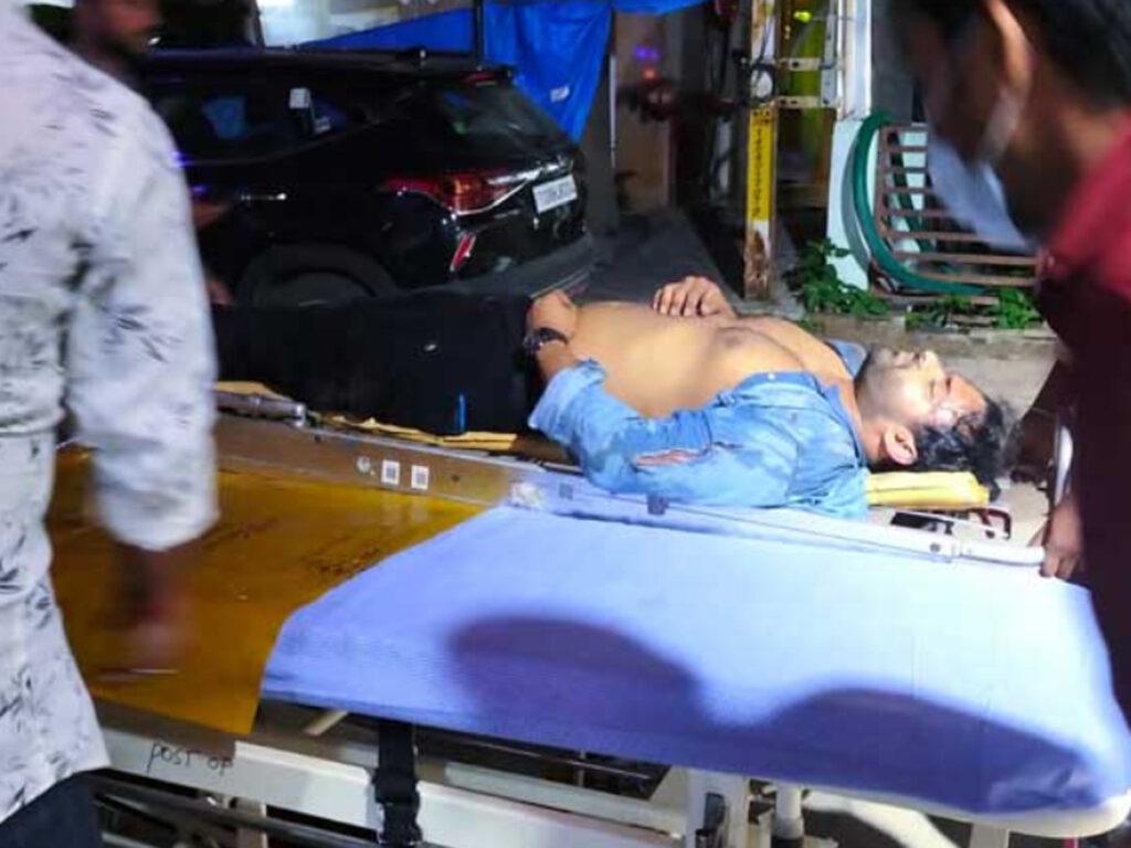 Accidental Photos of Sai Dharam Tej