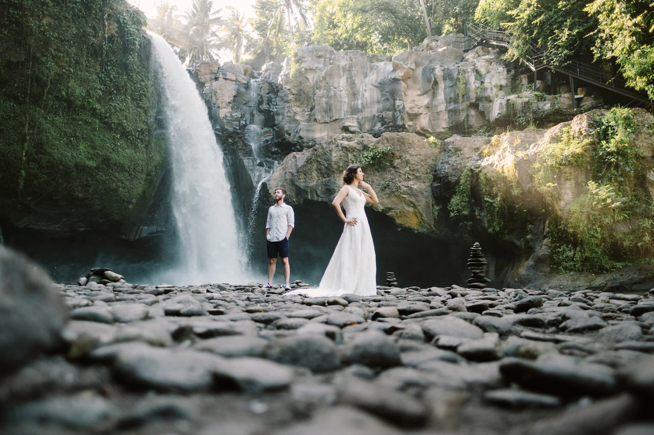 Ersoy  Oguz Tegenungan Waterfall Bali Honeymoon Shoot  Gusmank