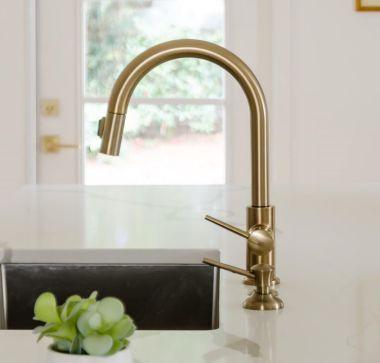 moen vs delta kitchen faucets which