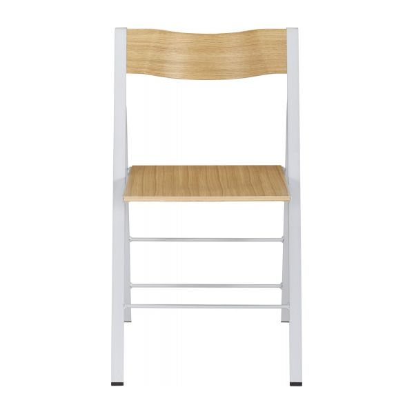 folding chair lulu chicco caddy hook on recall and accent chairs natural wood metal lacquered habitat n 1