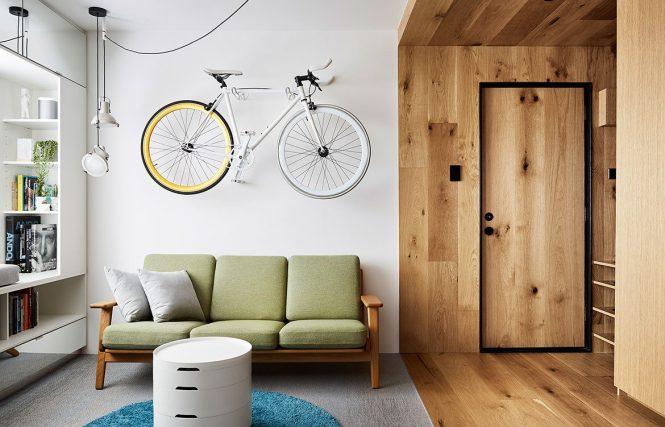 Less Is More In This Tiny Apartment By Tsai Design