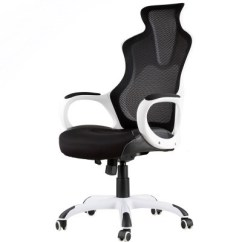 Mesh Gaming Chair Skyline Furniture Reviews Office Funiture Tables Chairs Inkagu J21 M104 White Frame With Black Nylon Backorder
