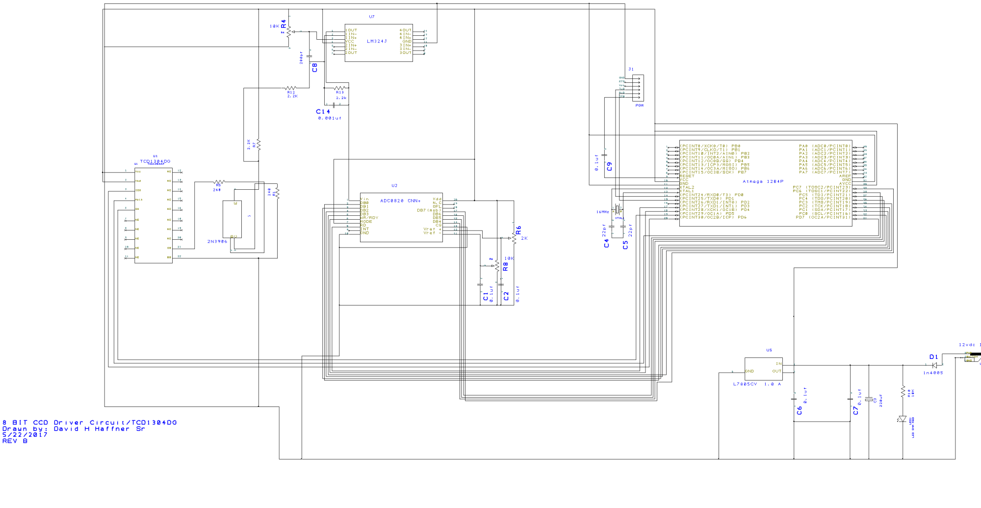 hight resolution of it was brought to my attention today that there may be some signaling and grounding problems with this design and pcb well i cannot see them