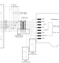 schematics sd card details hackaday io note this schematic does not include details concerning card supply [ 1104 x 810 Pixel ]