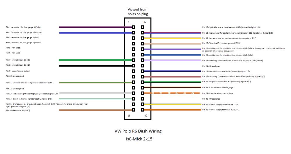 medium resolution of polo 6r dash wire diagram