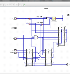 fast adder takes in c in a in and b outputs s and c out it is comprised of four chained 4 bit fast adder units constructed from simple logic gates  [ 1680 x 1011 Pixel ]