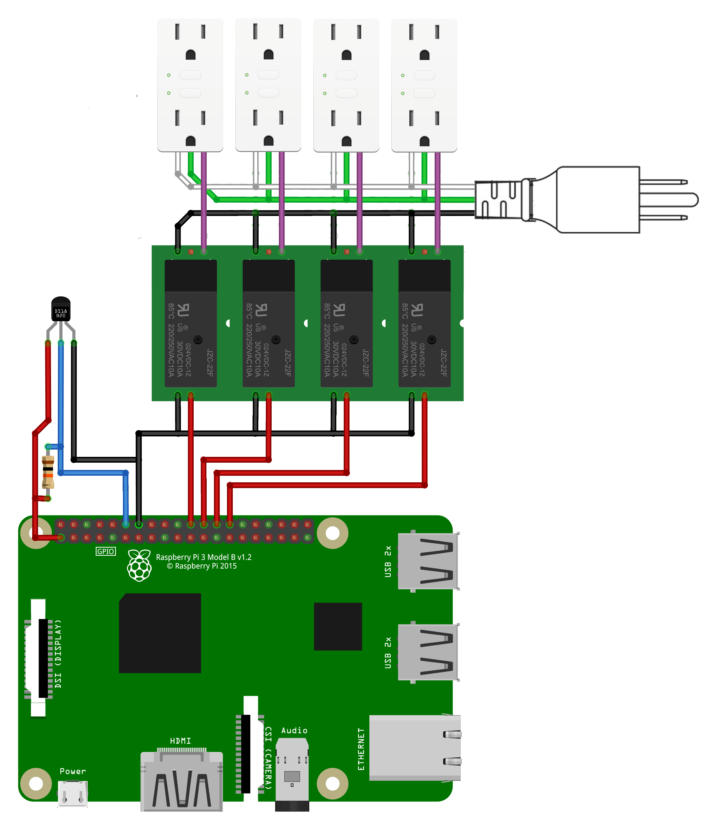 raspberry pi relay wiring diagram vy vz stereo instructions mycodo environmental regulation system