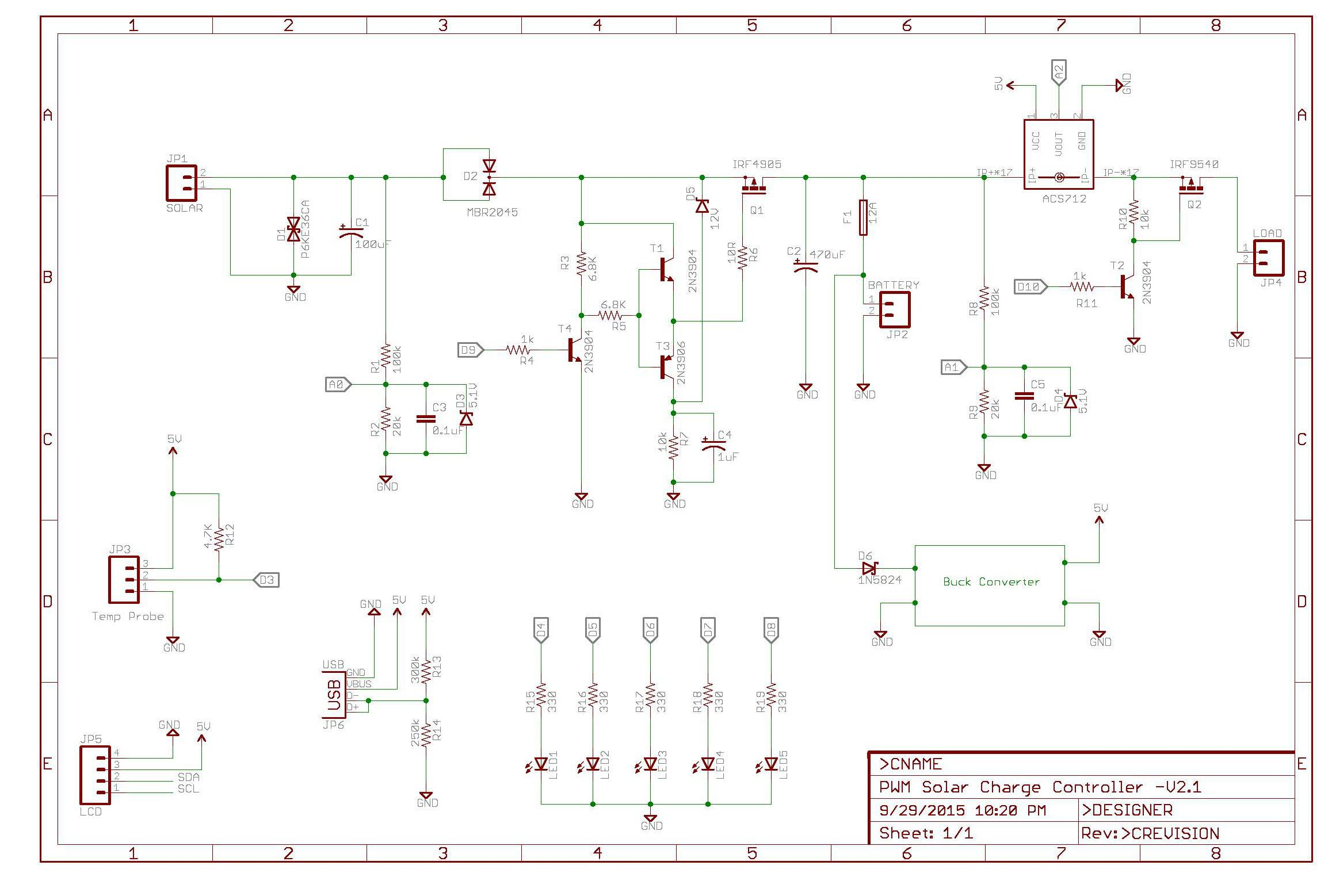 pwm solar charge controller circuit diagram central heating controls wiring diagrams arduino hackaday io shematic for v2 1