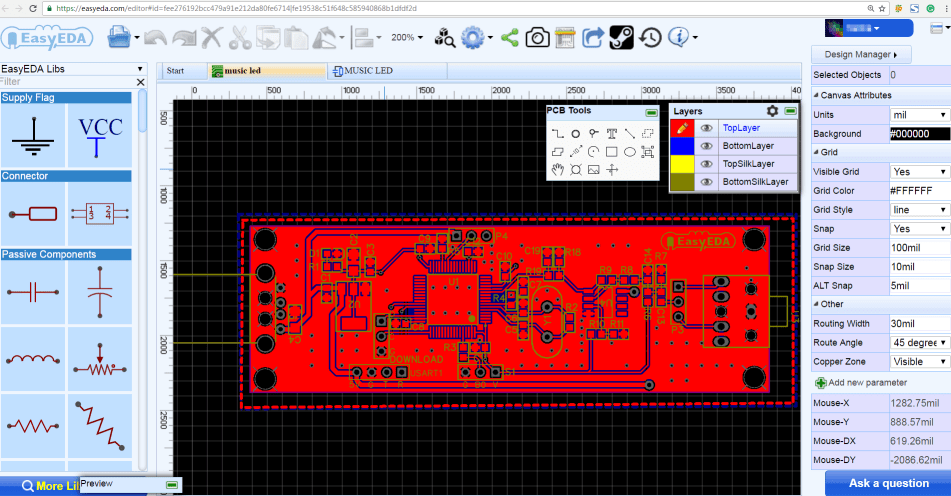 audio spectrum analyzer circuit diagram jeep cherokee wiring 1999 diy led using ws2812b hackaday io