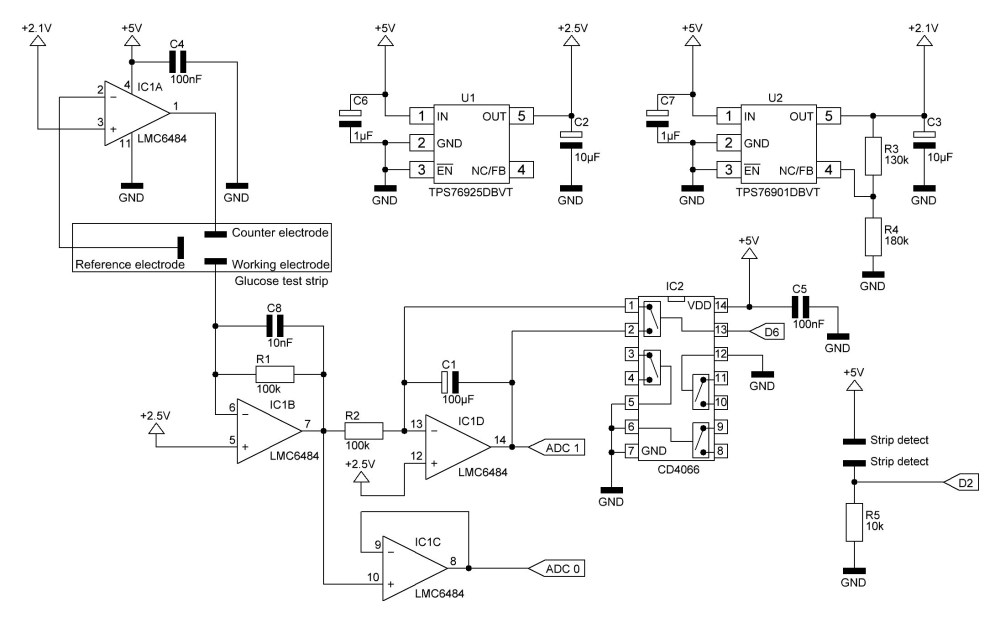 medium resolution of i changed the max4575 which resets the op amp integrator by shortening the capacitor by the quad bilateral switch cd4066 ic2 because this chip is much
