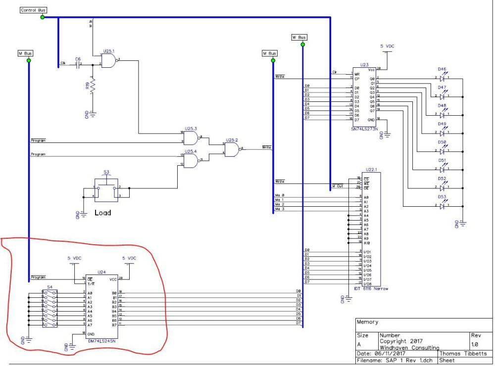 medium resolution of sap 1 computer on printed circuit boards hackaday io sap 1 circuit diagram