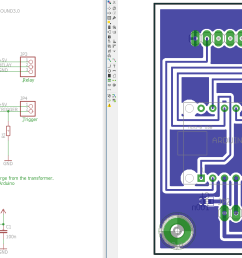 certainly not a pretty board but it took me less than 2h to design it and 45 minutes to mill it on my pcb mill talk about rapid prototyping  [ 2953 x 1204 Pixel ]
