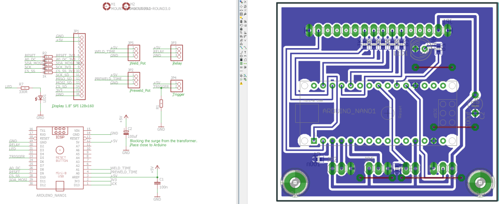 medium resolution of certainly not a pretty board but it took me less than 2h to design it and 45 minutes to mill it on my pcb mill talk about rapid prototyping