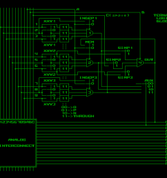 also in case of binary mode multiplexer 2 will be used only to form mem cell and will be ignored if logic block is used as lut so vertical signals 4 5  [ 1280 x 960 Pixel ]