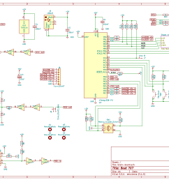 a nice feature in kicad is to create hierarchical sheets you can see this at the top right in the circuit diagram for the memory module  [ 1292 x 894 Pixel ]