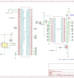 at the heart of the schematic is a 74lvch16t245 logic level translator ic this translator inputs are 5v tolerant so it shields and up to a limited level  [ 1446 x 999 Pixel ]