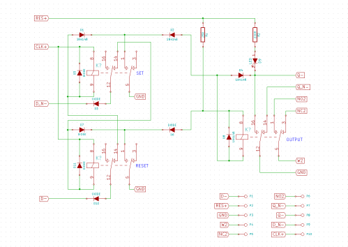 small resolution of i ordered the cheapest 5 volts relays i could find off of ebay their size is the main determining factor in the circuit layout of the flip flops