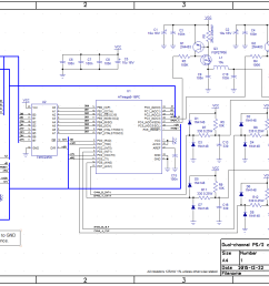 dual channel ps 2 controller schematic [ 1393 x 965 Pixel ]