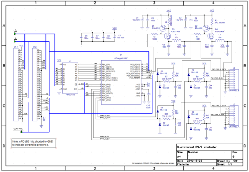 small resolution of dual channel ps 2 controller schematic