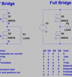 h bridge circuit diagram mosfet [ 1073 x 796 Pixel ]