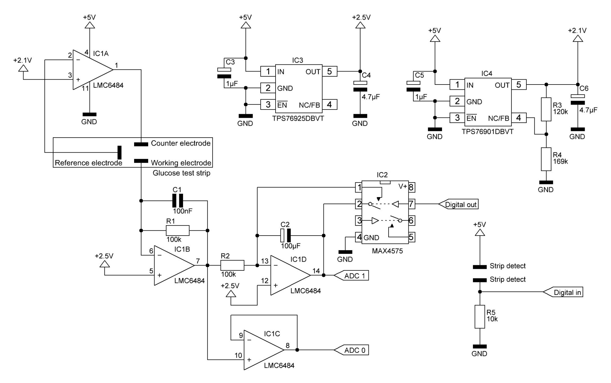 hight resolution of basic glucose meter schematic details hackaday io basic glucose meter schematic