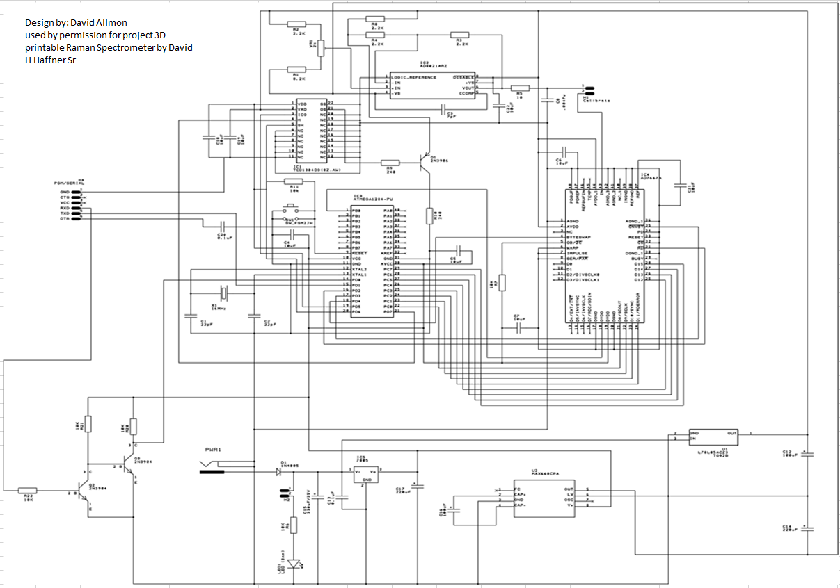 **Updated Schematics** for CCD Driver Circuit/BOM/ 3D