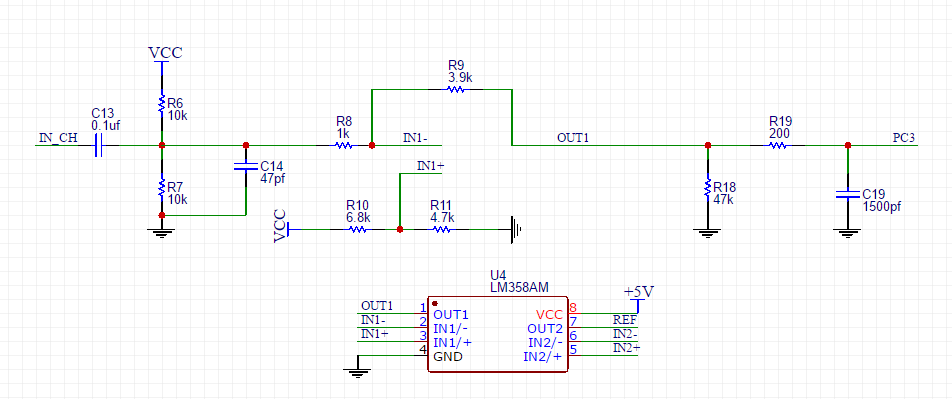 audio spectrum analyzer circuit diagram stihl bg 85 parts diy led using ws2812b hackaday io in the ch is an access terminal of a computer and pc3 amplified output signal which has been further sent to stm 32