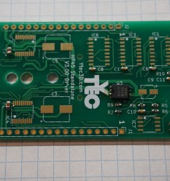the ic s are plentiful on the driver board ic1 ic3 ic6 are hef4017 with package soic 16 3 9mm the exact 4017 is not important only that it is at least  [ 4240 x 2832 Pixel ]