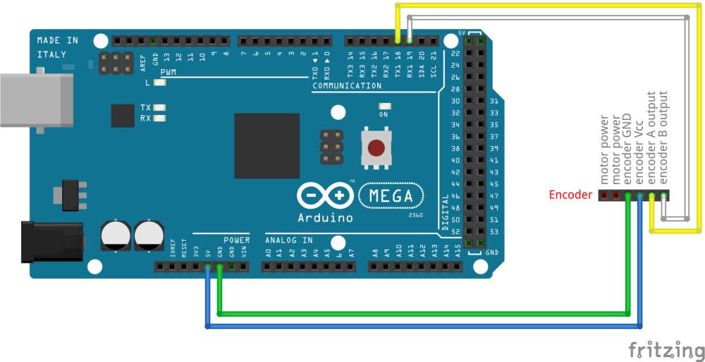 medium resolution of encoder connections