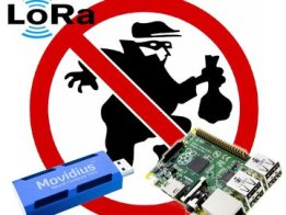 LoRa + Neural Network Security System