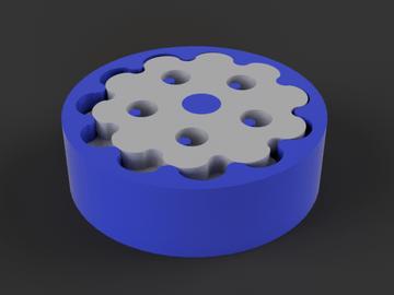 Parametric Cycloidal Gear Drive