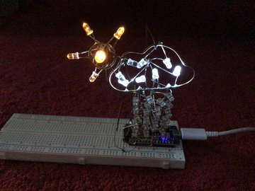IoT Weather Sculpture