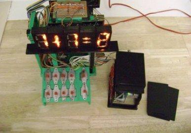 Vacuum tube single digit calculator
