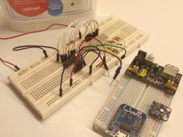 Measure humidity with ESP8266, IFTTT & Si7021