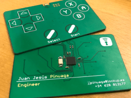 Business Card Gamepad