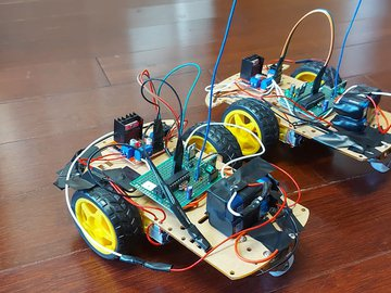 RC AVR Car with 433MHz Modules