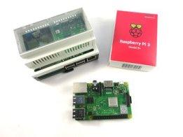 Raspberry Pi 3 cap rail enclosure