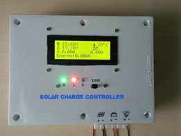ARDUINO PWM SOLAR CHARGE CONTROLLER