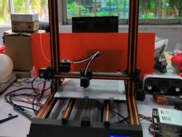 Our first 3D printer