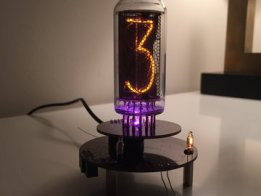 One Tube Nixie Clock
