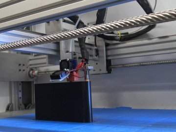 Large DIY 3D Printer With All Lead Screw