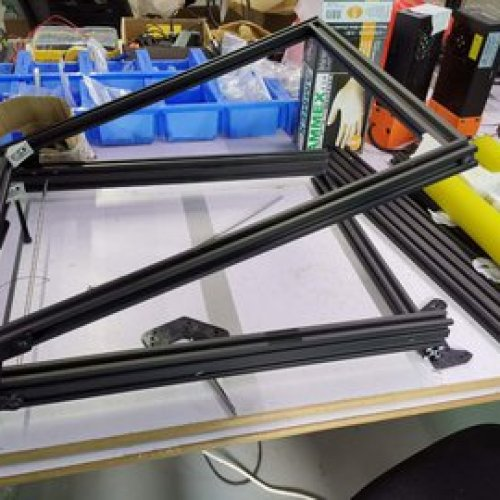 Infinite Z 3D printer
