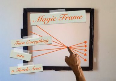 Magic Frame : Turn Everything into a Touch Area