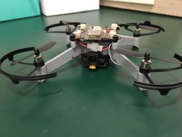 Object tracking with a drone