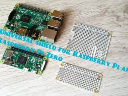 Raspberry Pi and Raspberry Pi ZERO SHIELD