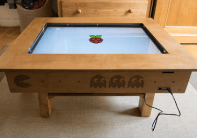 Touch Screen Coffee Table DIY With Low Cost CCD