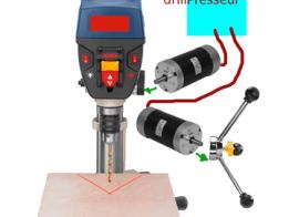 drillPresseur - Drill-Press with Force-Feedback