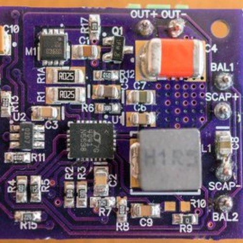 Single SuperCapacitor UPS for Raspberry Pi
